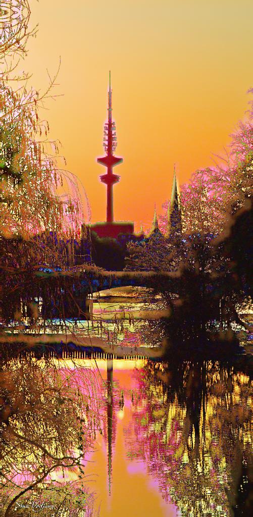 Fernsehturm Kirchblüten